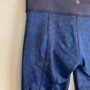 Quilted look lululemon leggings